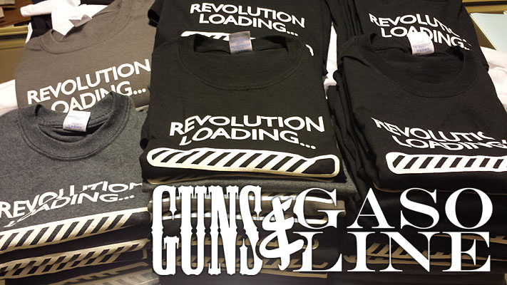 Guns & Gasoline, The D.C. Clothesline Revolution Loading t-shirts